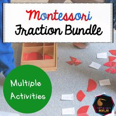 Fraction Bundle addition, identifying, fractions of an amount