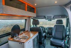Sprinter Van Conversion 144 4x4 By Advanture Company