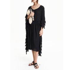 Black Kaftan Dress