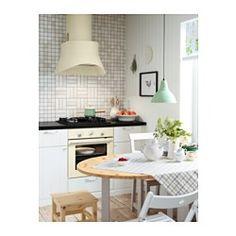IKEA - TJÄNLIG, Seinään kiinnitettävä liesituuletin, 5 vuoden takuu. Lisätietoja ja takuuehdot takuuvihkosessa.Tyylikäs muotoilu ja koristeelliset yksityiskohdat viimeistelevät keittiön ilmeen.Laaja ja pyöreä imupinta imee tehokkaasti ruoanlaitosta aiheutuvat höyryt ja hajut ja estää niiden pääsyn koko keittiöön.Kaksi asennusmahdollisuutta: hormiliitäntä tai  kiertoilmakäyttö aktiivihiilisuodattimella varustettuna.Rasvasuodatin on helppo irrottaa, ja sen voi pestä koneessa. Mukana 1…
