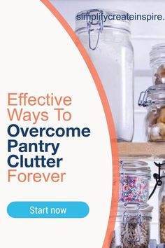 Get rid of clutter with these simple kitchen pantry organisation ideas to get your own pantry organised once and for all! No more wasting time searching! Home Organisation Tips, Kitchen Organisation, Home Storage Solutions, Organization, Baking Cupboard, Small Cupboard, Small Pantry, Corner Pantry, Kitchen Pantry