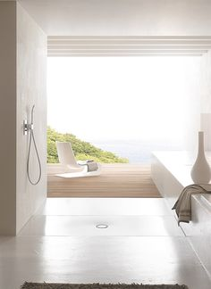 The shower area by Bette
