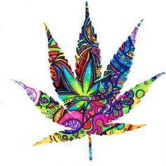 My photoshop cannabis leaf art theweedartlady weedart for Plante 9 chemises