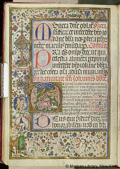 Missal, M.450 fol. 126v - Images from Medieval and Renaissance Manuscripts - The Morgan Library & Museum