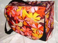 Dslr camera bag dslr messenger bag padded camera bag Slr Camera Bag Bright Floral birds Listing Stats  by StrappyStyles for $76.95