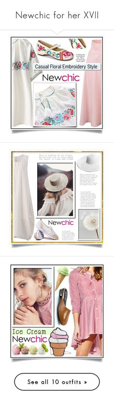 Newchic for her XVII by ewa-naukowicz-wojcik on Polyvore featuring moda, White Label, plus size dresses, By Terry, Angelo and plus size clothing