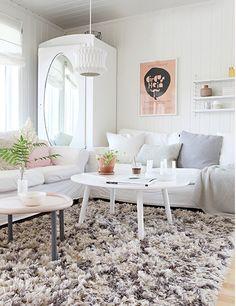 Cozy, fluffy rug