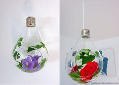 Summer flowers in a bulb by Garden & Decoration. Summer Flowers, Wild Flowers, Some Ideas, Get Outside, Summer Time, Flower Arrangements, Bloom, Bulb, Decoration