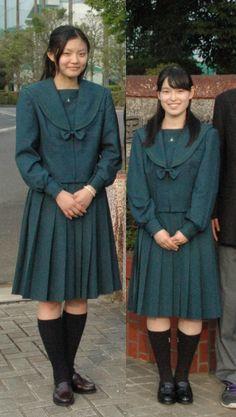 Japanese School Uniform, Beautiful Women, Coat, Jackets, Style, Fashion, Shoe, Down Jackets, Swag