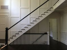 open stairwell to basement ideas basement stair railing ideas removable stair ra. open stairwell to basement ideas basement stair railing ideas removable stair rails basement stair Open Basement Stairs, Stairs In Kitchen, Open Stairs, Walkout Basement, Stair Railing, Railing Ideas, Banisters, Railings, Staircase Remodel