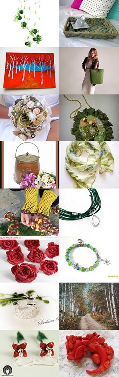 Spring Kisses by Laura P. on Etsy--Pinned with TreasuryPin.com