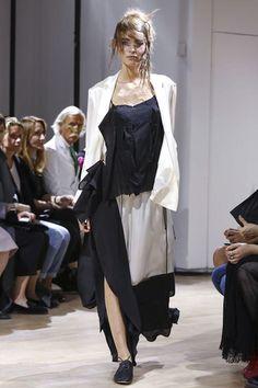 Yohji Yamamoto Ready To Wear Spring Summer 2015 Paris