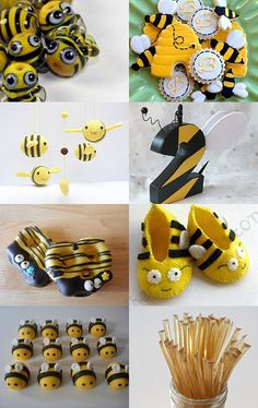 A Bumble Bee Spring Treasury by KatersAcres