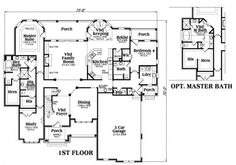 His and hers master bathroom floor plan with two toilet for His and hers bathroom floor plans