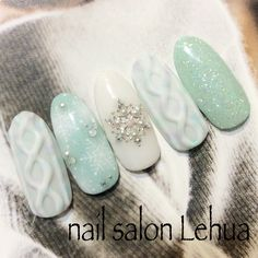 Nail Care Products Market Best Nail Care Products In The World. Mint Nails, Gem Nails, Christmas Nail Designs, Christmas Nail Art, Xmas Nails, Holiday Nails, Fabulous Nails, Gorgeous Nails, Cute Nails