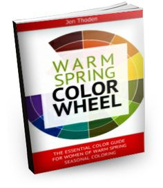 """""""How to Wear Your WarmSpring Colors... So That You Look and Feel Beautiful Everyday"""" Watch the video below to learn *exactly* how to use your warmspring color wheel and colorguide to create unique and amazing outfits... while shopping or staring blankly at your closet... Click through to learn more..."""
