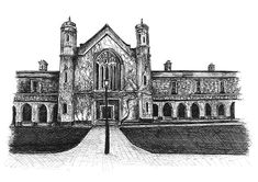NUI Galway Ink Drawings, Limited Edition Prints, Fine Art Prints, Antiques, Artist, Antiquities, Art Prints, Artists, Antique