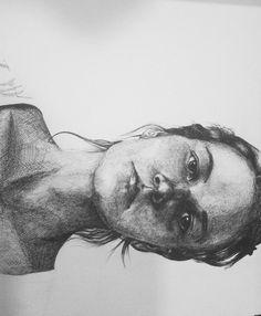 Self-portrait in micron pen. :)