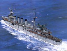 輕巡 那珂  Naka Battle Boats, Pearl Harbour Attack, Imperial Japanese Navy, Naval History, Navy Ships, Ship Art, Military Art, Battleship, Marines