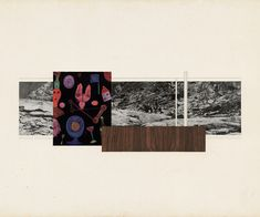 Mies van der Rohe | Collage | Resor House