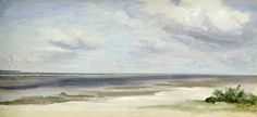 Jacob Gensler-A Beach on the Baltic Sea at Laboe