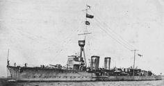 British Flotilla Leader HMS Castor. Castor fought at the Battle of Jutland 31st May 1916 leading the 11th Destroyer Flotilla