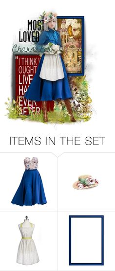 """""""A heart's a heavy burden."""" by triciamcmillan ❤ liked on Polyvore featuring art, dolls, dollset, polyvorecontest, triciamcmillan and MostLovedCharacter"""