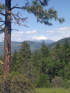 Mt. McLoughlin in southern Oregon