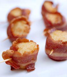 Bacon-Wrapped Scallops   The Good Pour