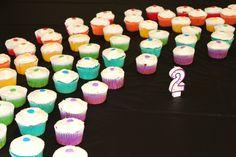 Homemade Rainbow Cupcakes