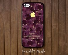 iPhone 5 Case iPhone 5S Case Violet flower leaves / by ARTICECASE, $19.99