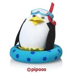 Sinterklaas surprise voor 5 december. Met deze vrolijke pinguïn maak je iedereen aan het lachen...