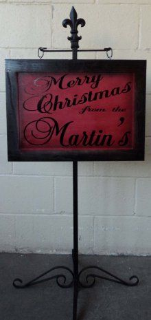 New Products : Signs For Design, Custom Signs. Hang with string for front yard sign post in ground