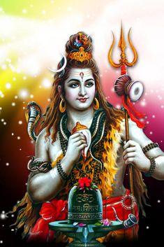 Hindu art with lord Shiva, the most powerful god in Hinduism Photos Of Lord Shiva, Lord Shiva Hd Images, Lord Vishnu Wallpapers, Lord Shiva Hd Wallpaper, Shiva Linga, Mahakal Shiva, Shiva Art, Hindu Art, Lord Shiva Statue