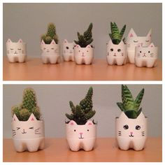 Diy Crafts - Hello that was me and my sister doing this:) Reuse Plastic Bottles, Plastic Bottle Crafts, Diy Bottle, Plastic Bottle Planter, Bottle Garden, Water Bottle Crafts, House Plants Decor, Plant Decor, Diy Home Crafts