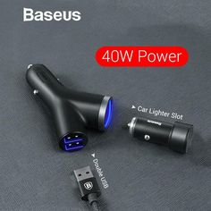 Limited Price of Baseus Car Charger for Universal Mobile Phone Dual USB Car Cigarette Lighter Slot for Tablet GPS 3 Devices Car Phone Ch. Tablet Gps, Iphone Mobile Phone, Phone Store, Charger Holder, Cell Phone Wallet, Cell Phone Accessories, Usb, Slot, How To Find Out