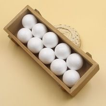 50 PCS 40 MM Modelling Poliestireno Isopor Espuma Bola Ofício Branco Sólido Bolas Para DIY Presentes de Natal Fontes Do Partido Decoração(China (Mainland))