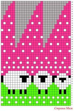Шапка с овечками, схема + описание (baablehat, baa ble hat) Fair Isle Knitting Patterns, Knitting Charts, Knitting Stitches, Knitting Designs, Knit Patterns, Knitting Projects, Stitch Patterns, Knitting Machine, Knit Or Crochet