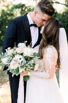 Click pin to see more Orange Blossom Bride | Orlando Wedding Blog #orlandowedding #dustybluewedding #dustyblue Elegant Wedding, Dream Wedding, Wedding Day, Wedding Blog, In Bloom Florist, Lakeside Wedding, Dusty Blue Weddings, Orlando Wedding, Bride Look