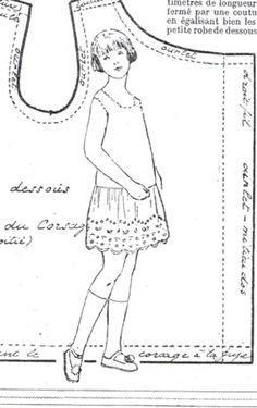 SEMAINE de SUZETTE_Bleuette Pattern,  1928