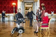The Danish Royal family held a reception for the Olympic and Para Olympic participants of the 2016 Rio games. Copenhagen Denmark. October 14 2016