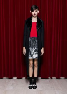 Moschino Cheap and Chic pre-collection F/W 13-14. #moschino #cheapandchic