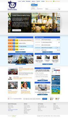 Portal Estância Bahia by Flex Up #portal #portais #estanciabahia #cms #web #web20 #flexup