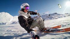 #GoPro: Kite Skiing with Damien Leroy http://www.youtube.com/watch?v=ysdn2xbvTLo