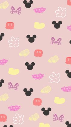 Mickey & Minnie Pattern