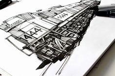 Sketching by Marcelo Alvarez Bravo http://mindrecorders.com/