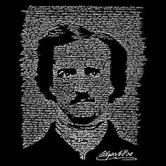 LA Pop Art Edgar Allen Poe created out of The Raven