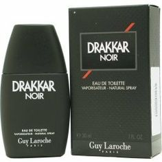DRAKKAR NOIR by Guy Laroche EDT SPRAY 1 OZ by Guy Laroche. $19.00. Brand New item. GUY LAROCHE. Mens Perfume. Launched by the design house of Guy Laroche in 1982, DRAKKAR NOIR by Guy Laroche for Men posesses a blend of: lavender, citrus, spicy berries and sandalwood. It is recommended for casual wear.