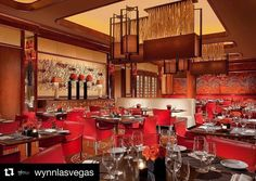 """Our #pasqualinaseries #armchair #bespoke with #red #leather and #yellow #stiching for @wynnlasvegas   """"America's favorite pastime is celebrated with a touch of Italian flair at Allegro, where 9 big screens and a menu of all-you-can-eat favorites make this Big Game bash an odds-on favorite""""."""