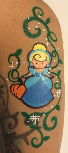 Princess (Cinderella) Forearm Art